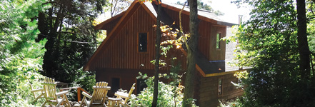 Bliss Cottage Exterior - Luxury Cottage Rental